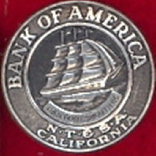 Very Old Bank of America Lapel Pin sterling silver free shipping no reselling
