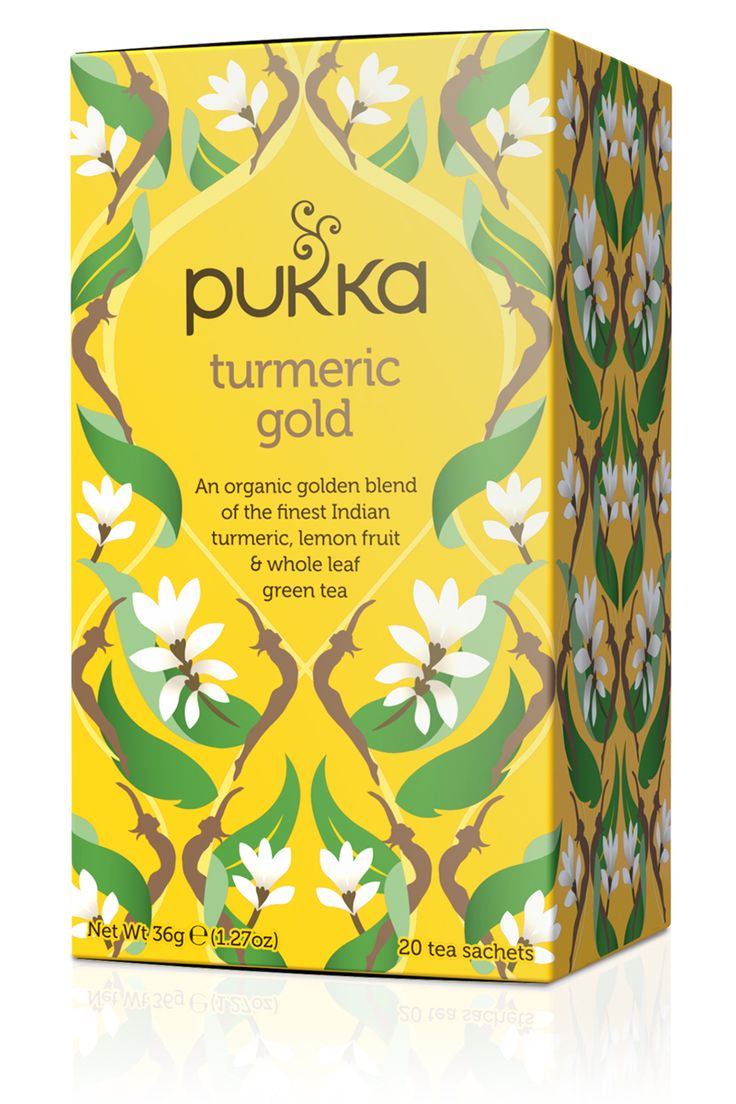 Turmeric Tea | Pukka Teas Need to find this one and give it a try.