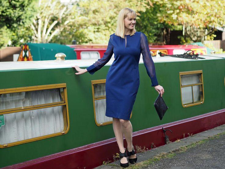 The Perfect Little Blue Dress: Winser London.