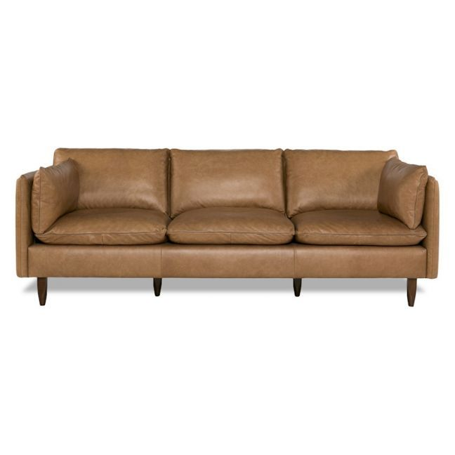 Eton 3 Seat Sofa Freedom Contemporary Leather Sofa Tan Leather Sofa Living Room Leather Sofa