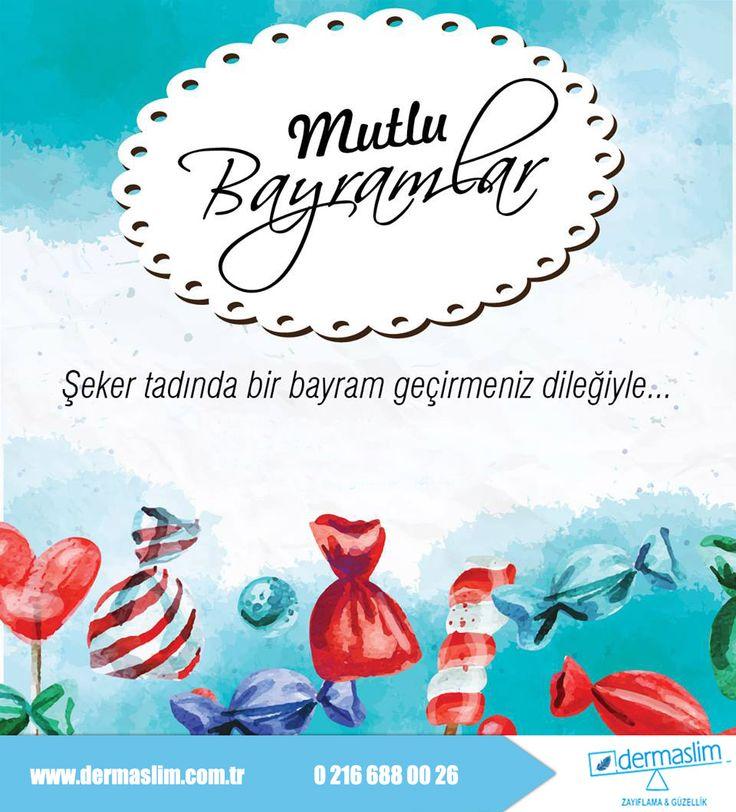 Herkese İyi Bayramlar Şeker tadında bir bayram geçirmeniz dileğiyle.... #Dermaslim #MyOffice #Bulvar216
