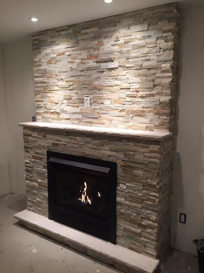 18 Best Faux Stone Fireplaces Images On Pinterest Faux