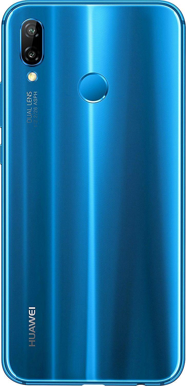 Huawei P20 Lite Blue 19 9 Full View Display 24mp Front Camera 64gb Huawei 64gb 4gb Ram