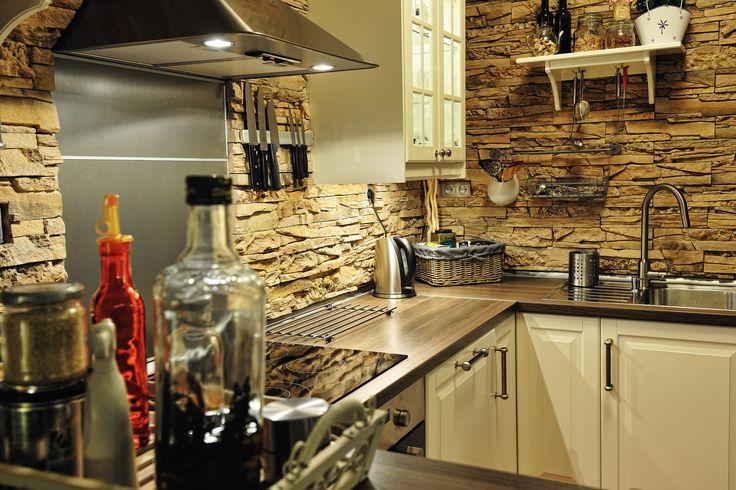 verblendstein rock laugaricio in der küche | wandverkleidungen, Hause deko