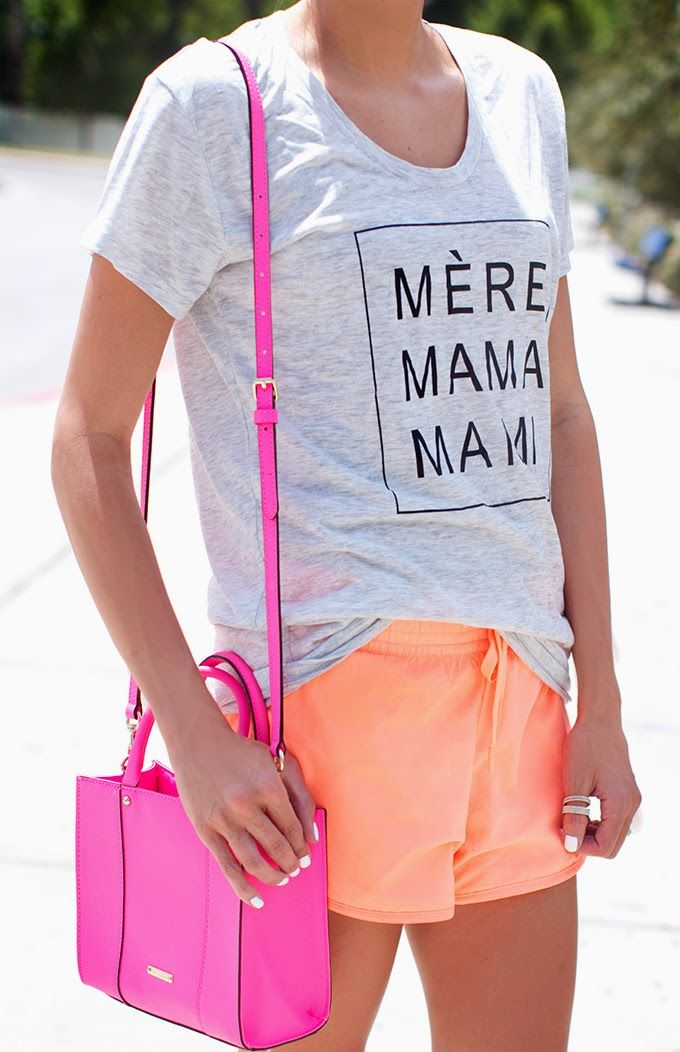 Neon Weekend Shorts