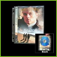 DVD Binder Set for 20 DVDs & Movie Covers