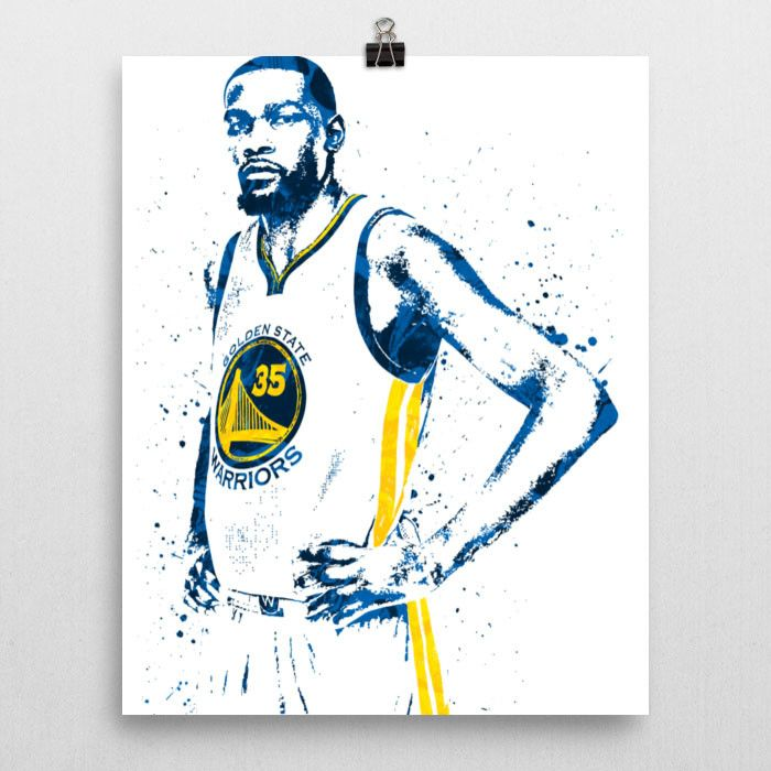 Kevin Durant poster. Durant is an American professional basketball player for the Golden State Warriors  sc 1 st  Pinterest & Best 25+ Durant golden state ideas on Pinterest | Kd golden state ...