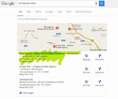 Keweb  Web design, grafica ad Osimo (Ancona): SEO che funziona