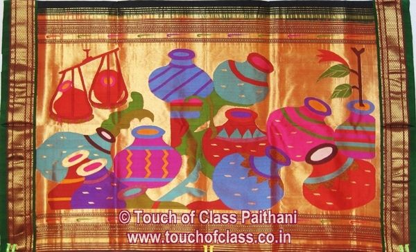 Touch of Class Paithani: Exclusive Paithani Saree Collection | Wedding Paithani Sarees