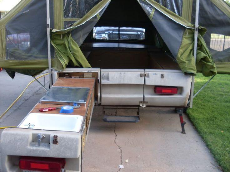 1960 Montgomery Ward Tent Trailer Resto.: 1960 Montgomery, Pup Ideas, Trailer Ideas, Camper Madness, Camping Vintage, Montgomery Ward, Tent Trailers, Trailer Resto, Pop Up Camper