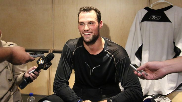 Here's what the Pens were saying in the locker room heading into Friday's matchup with the Rangers…