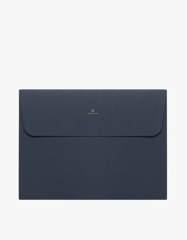 A pack of four identical folders from Appointed in classic colors.  Features…