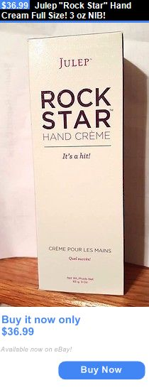 Hand and Nail Treatment Creams: Julep Rock Star Hand Cream Full Size! 3 Oz Nib! BUY IT NOW ONLY: $36.99