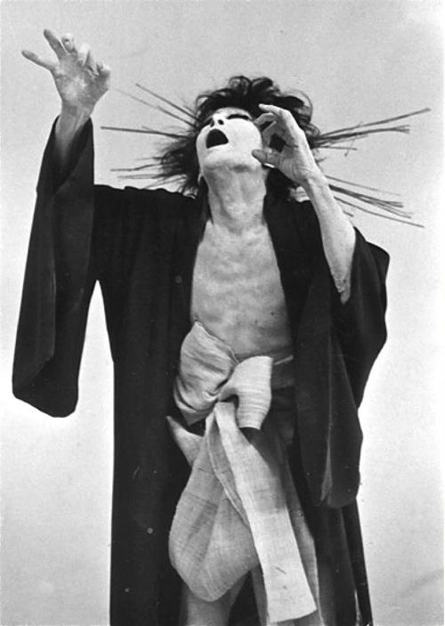 Kazuo Ohno. Amazing Japanese Butoh dancer xox