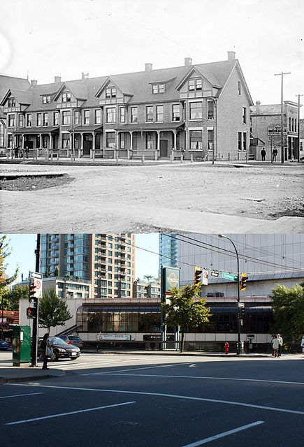 SE Corner of Georgia & Seymour - 1890/2011