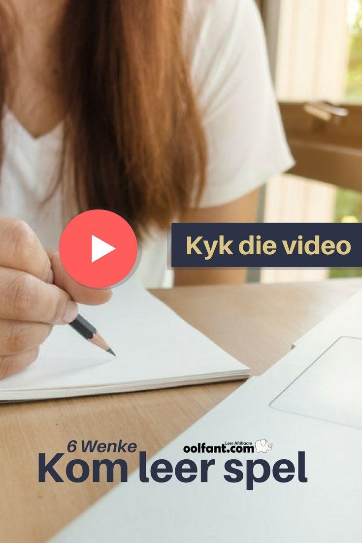 Spel beter in Afrikaans | 'n Video-aanbieding | oolfant.com | Tuisskool in Afrikaans
