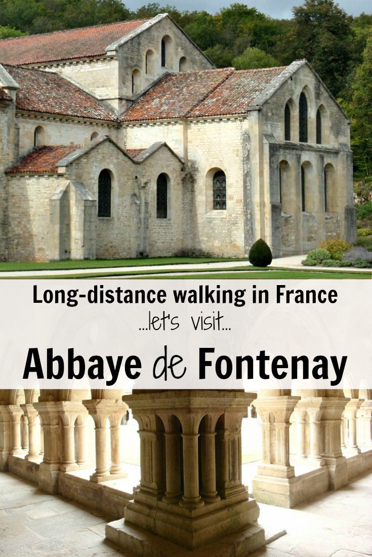 Detour off the Burgundy Canal and explore Abbaye de Fontenay on a walking holiday in France
