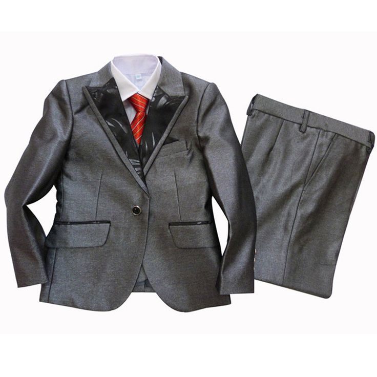 terno infantil Boys blazers for Weddings Christmas Gift Kids Formal clothing sets 3 pieces Tuxedo suits Baby Birthday clothes