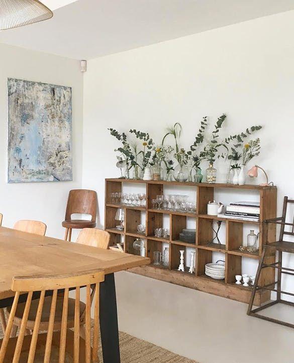 Integrer Un Meuble De Metier Dans Son Salon Meuble De Metier Renovation Maison Deco Salon Cocooning