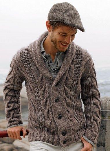 Cat. 12/13 - 574 Shawl collar jacket Patterns de Bergère de France - free