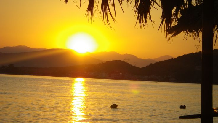 Sunset at Vivari, Nafplion