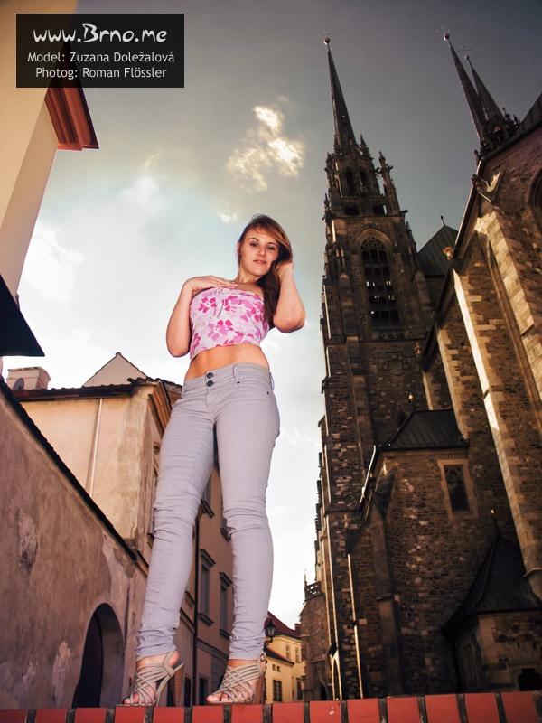 Katedrála Petrov je pěkně vysoká