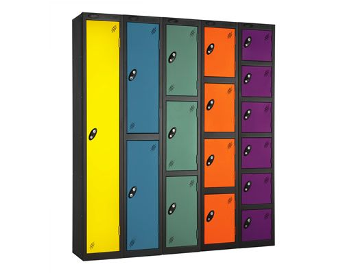 Luxury Gym Locker Shelves