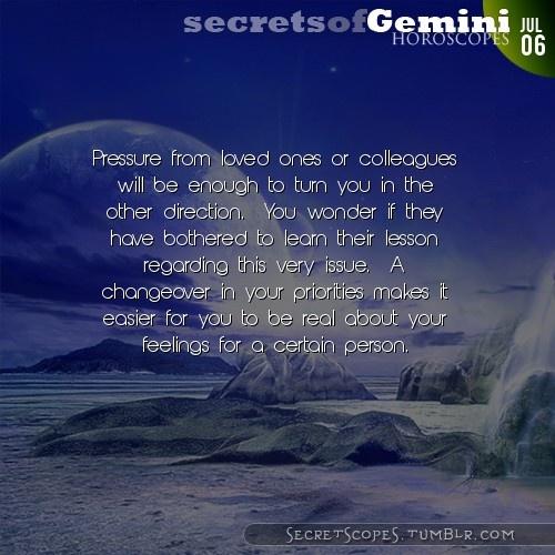 Gemini Horoscope. Hey Gemini, follow us for horoscopes every day!