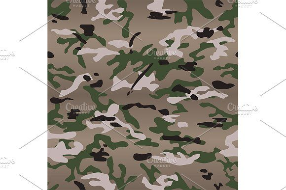 vector of seamless multicam camo by charnsitr on @creativemarket
