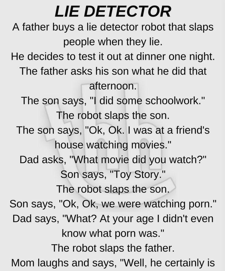 Lie Detector robot - <b>funny story</b> #hilariousjokes | <b>jokes</b> | <b>Funny</b> ...