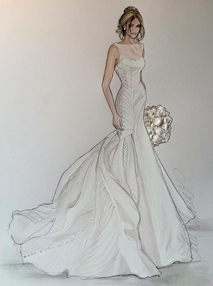 Unique Angel Sanches Sketches Anne Hathaways Wedding Dress  OneWedcom