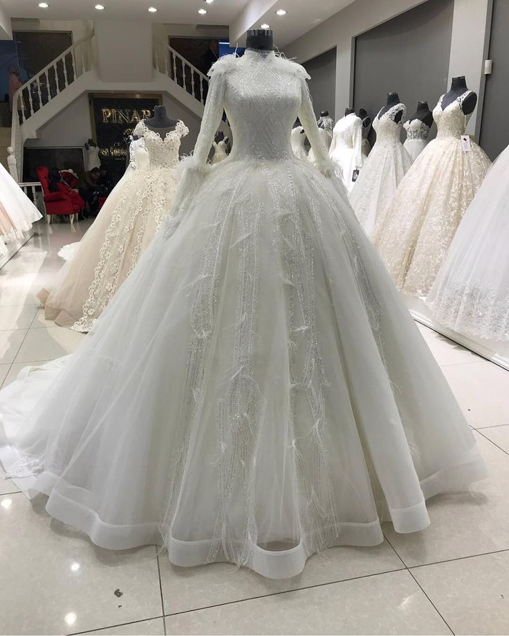 Most Elegant Hijab Pleated Bridesmaid Dresses, www.tesetturelbis ..., #pinarsems ...