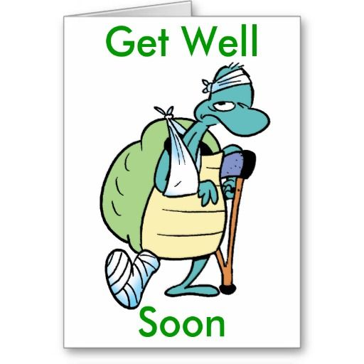 This funny get well card is just the card for someone recovering from injury. $5.75 from Swamp Cartoons Zazzle Store #GetWell http://www.zazzle.com.au/swamp_turtle_get_well_soon_card-137108292287955890?rf=238100710189761270