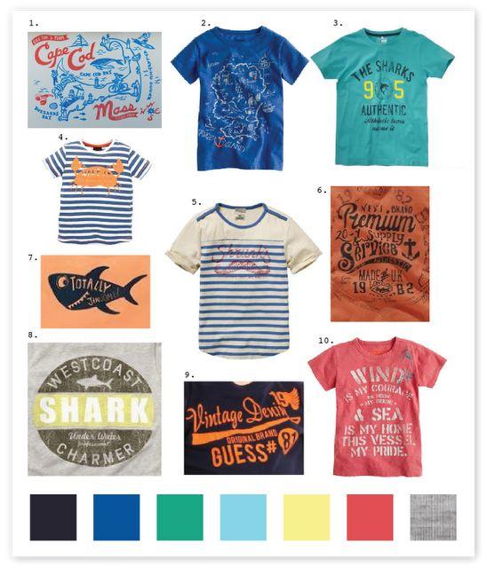 Emily Kiddy: Boys - Gone Fishing Trend - Spring/Summer 2013