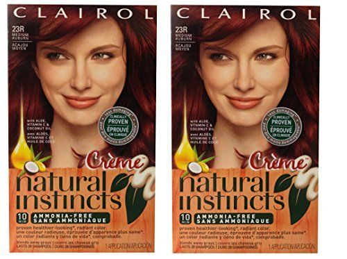 Clairol Natural Instincts Rich Color Creme, Raspberry Creme 23R - PACK OF 2 - ** Check this awesome product by going to the link at the image. (Amazon affiliate link)