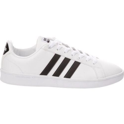 Adidas Men's Cloudfoam Advantage Court Shoes (Footwear White/Core Black, Size 11.5) - Men's Athletic Lifestyle Shoes at Academy Sports