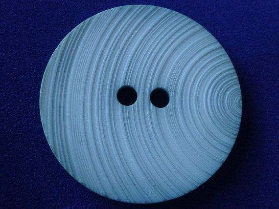 Large Celluloid Button With Grooves by PipersEmporium on Etsy, $8.00