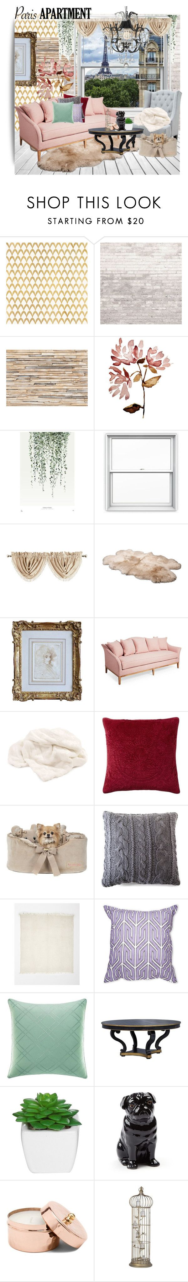 """""""Le coucher du soleil"""" by luxurythought ❤ liked on Polyvore featuring interior, interiors, interior design, home, home decor, interior decorating, Barclay Butera, WALL, Brewster Home Fashions and Lonely Planet"""