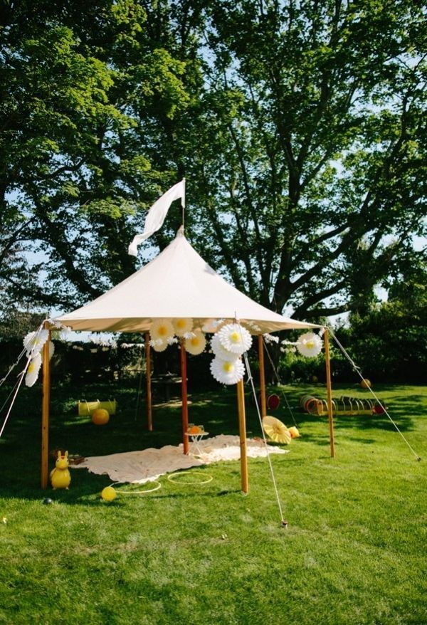 Backyard Tent Party Ideas :  Ideas, Tents Ideas, Outdoor Parties, Parties Ideas, Baby Tents