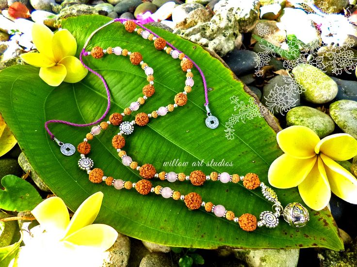 Harmony Ball Rose Quartz necklace