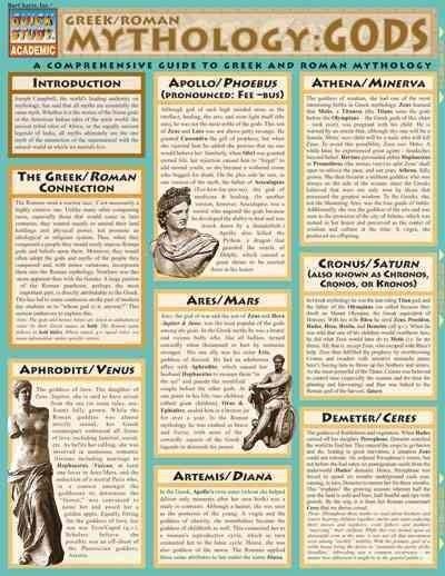 Mythology: Greek and Roman Gods