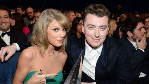 Taylor Swift Tells Her Favorite Sam Smith Story