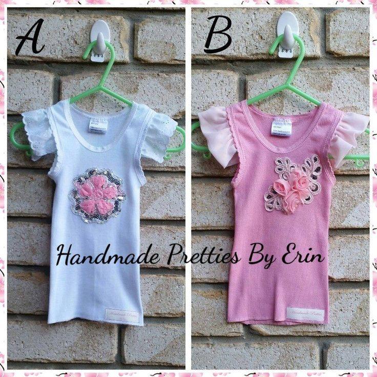 Handmade Pretties By Erin Size 00 embellished singlet