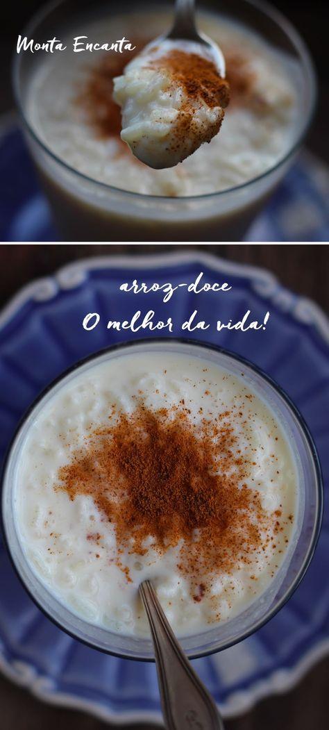 Arroz Doce Cremoso é uma junção do arroz doce com condensado e creme de leite, canela e limão. Uma iguaria condensada, alucinante!