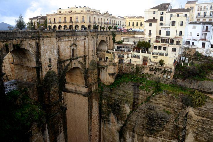 Puente Nuevo (new bridge) build in 1793. photo: Dennis Faro