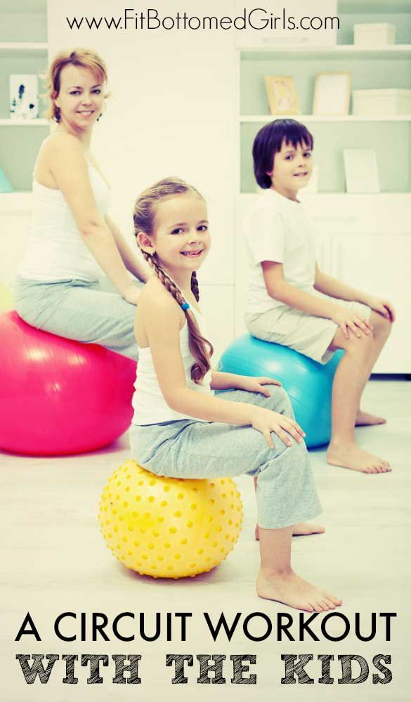 Get fit with the family with this fun circuit fitness challenge!