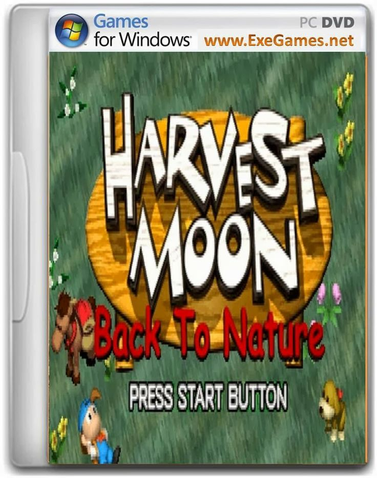 Harvest Moon Back To Nature Game Free Download Full