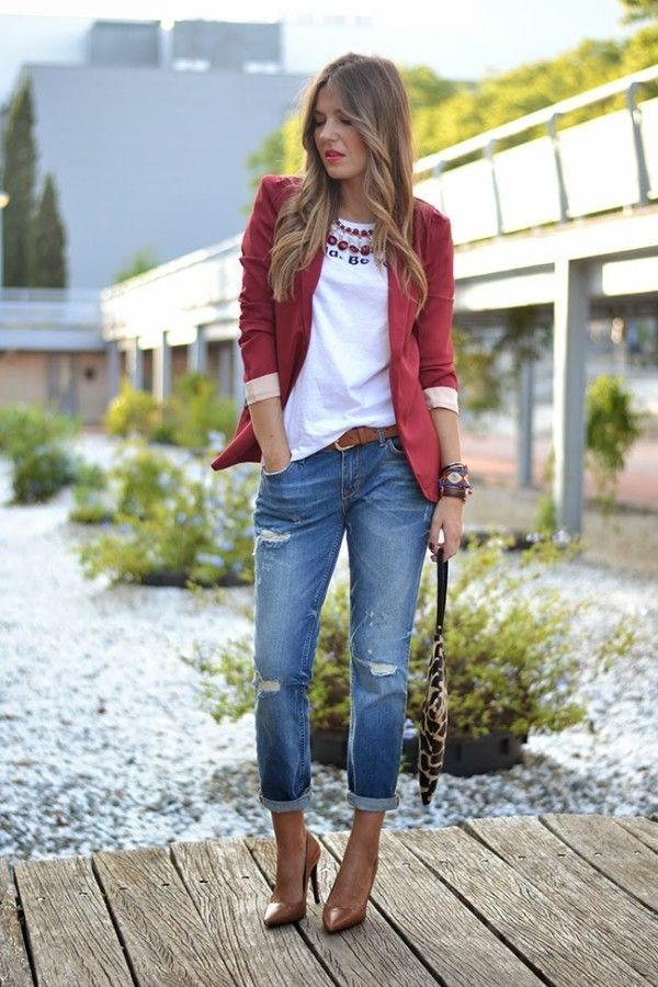 25 +> Be trendy this fall – obligatory Fashion Piece Blazer