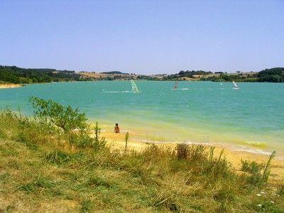 Lac de la Ganguise, Aude, Languedoc