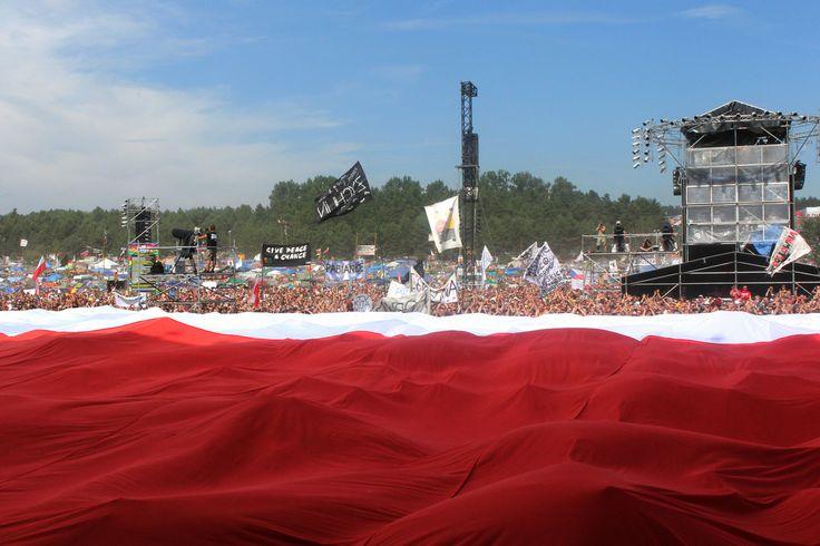 Rozwijamy flagę! Fot. Agnieszka Janowska